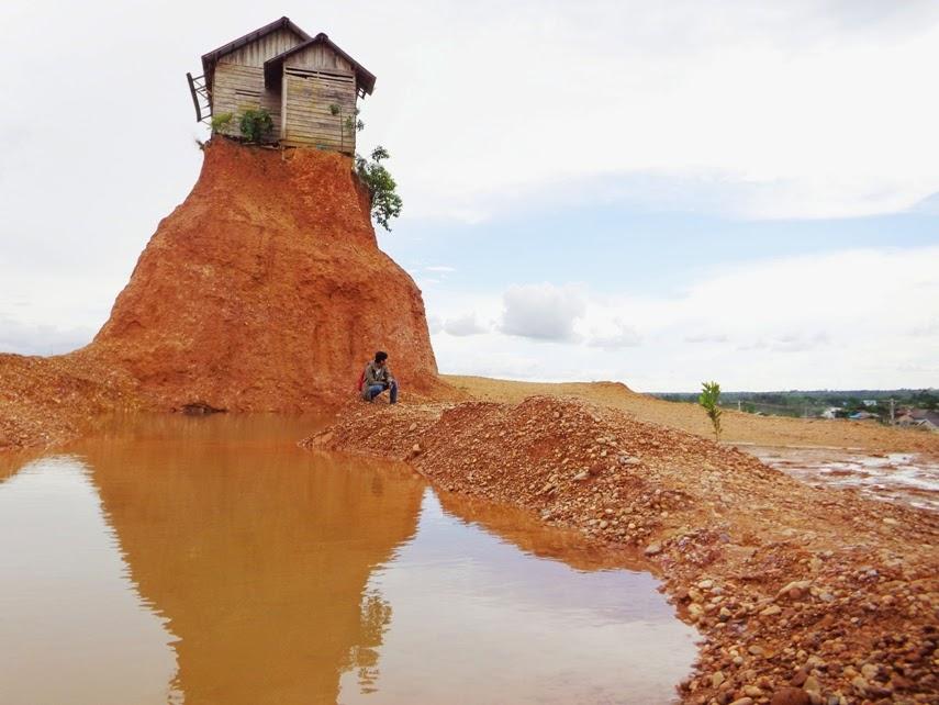 Rumah Jomblo, rumah sangkut, tempat hunting, spot hunting banjarbaru, tempat hunting banjarbaru